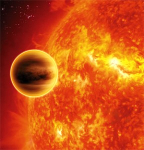 Image of Hot Jupiter