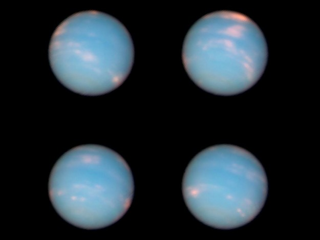 Image of Neptune by Hubble