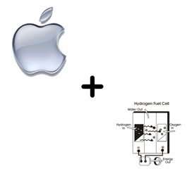 Image of Apple plus Hydrogen Fuel Cell