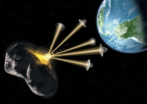 Asteroid Deflection Strategy