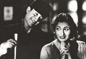 Image of Dev Anand with Madhubala