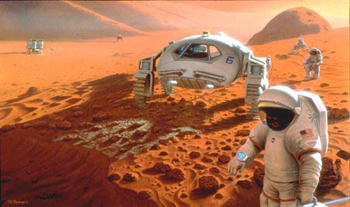 Image of Manned Mars Mission