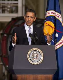 Image of Obama Space Policy 2010