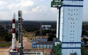 PSLV-C25 Rocket on the Launchpad
