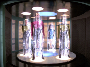 Quantum Teleportation in Star Trek